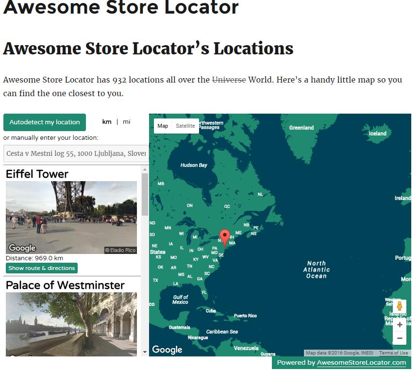 Store Locator Wordpress - Step 4