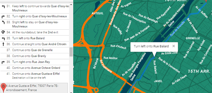 Store Locator Driving Directions
